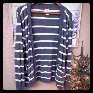 XXL Mossimo sweater cardigan